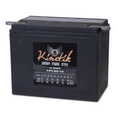 Sealed AGM V-Twin Heavy Duty 12-Volt 19 Ah Capacity HD Terminal Battery