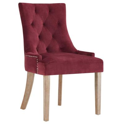 Maroon Dining Chairs Kitchen Dining Room Furniture The Home Depot