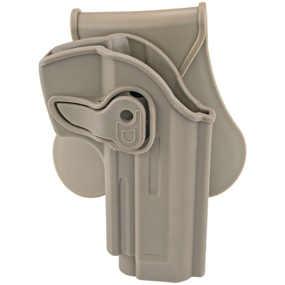 Boomstick Gun Accessories Paddle Holster Beretta 92 Beretta 92FS GSG92  Girsan Regard MC FDE OWB Concealed