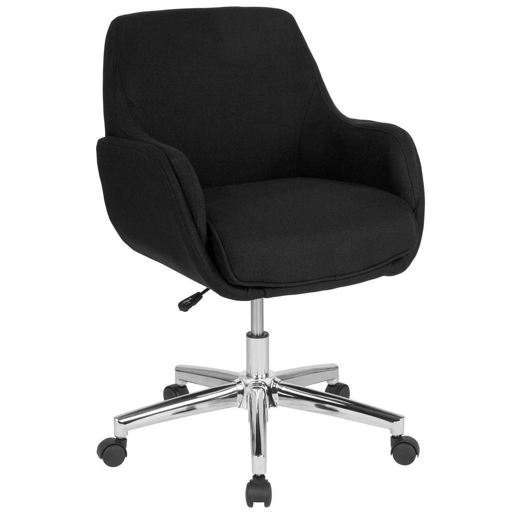 Flash Furniture Black Fabric Office/Desk Chair CGA-BT-232132-BL-HD