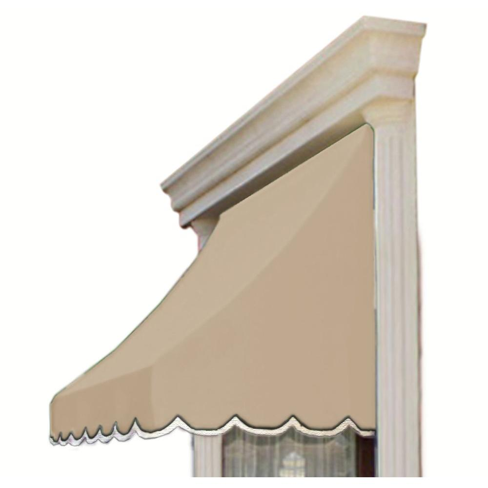 AWNTECH 35 ft. Nantucket Window/Entry Awning (56 in. H x 48 in. D) in Linen