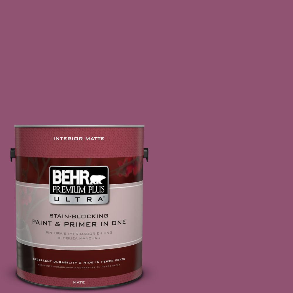 1 gal. #HDC-AC-28A Carnation Festival Matte Interior Paint