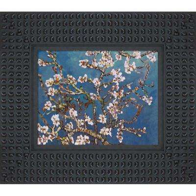 La Pastiche Branches Of An Almond Tree In Blossom With Java Bean Vincent Van Gogh Framed Abstract Oil Painting 14 5 In X 16 5 In Vg1081 Fr 7002408x10 The Home Depot