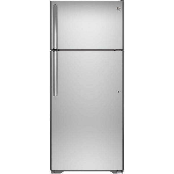17.6 cu. ft. Top Freezer Refrigerator in Stainless Steel, ENERGY STAR