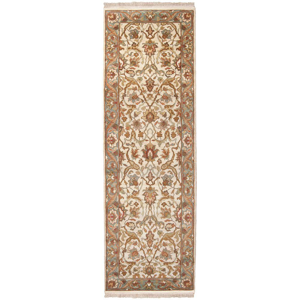 Surry Cream Semi-Worsted 3 ft. x 8 ft. Runner Rug