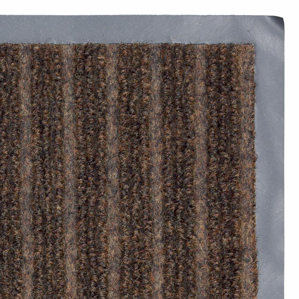 Chocolate Commercial Door Mat Polyester Brown Patio Heavy