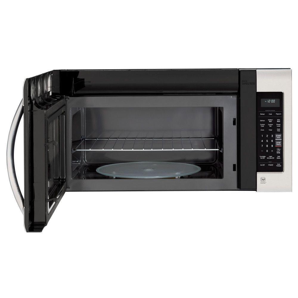 2.0 cu. ft. Over-the-Range Microwave in PrintProof Stainless Steel with EasyClean