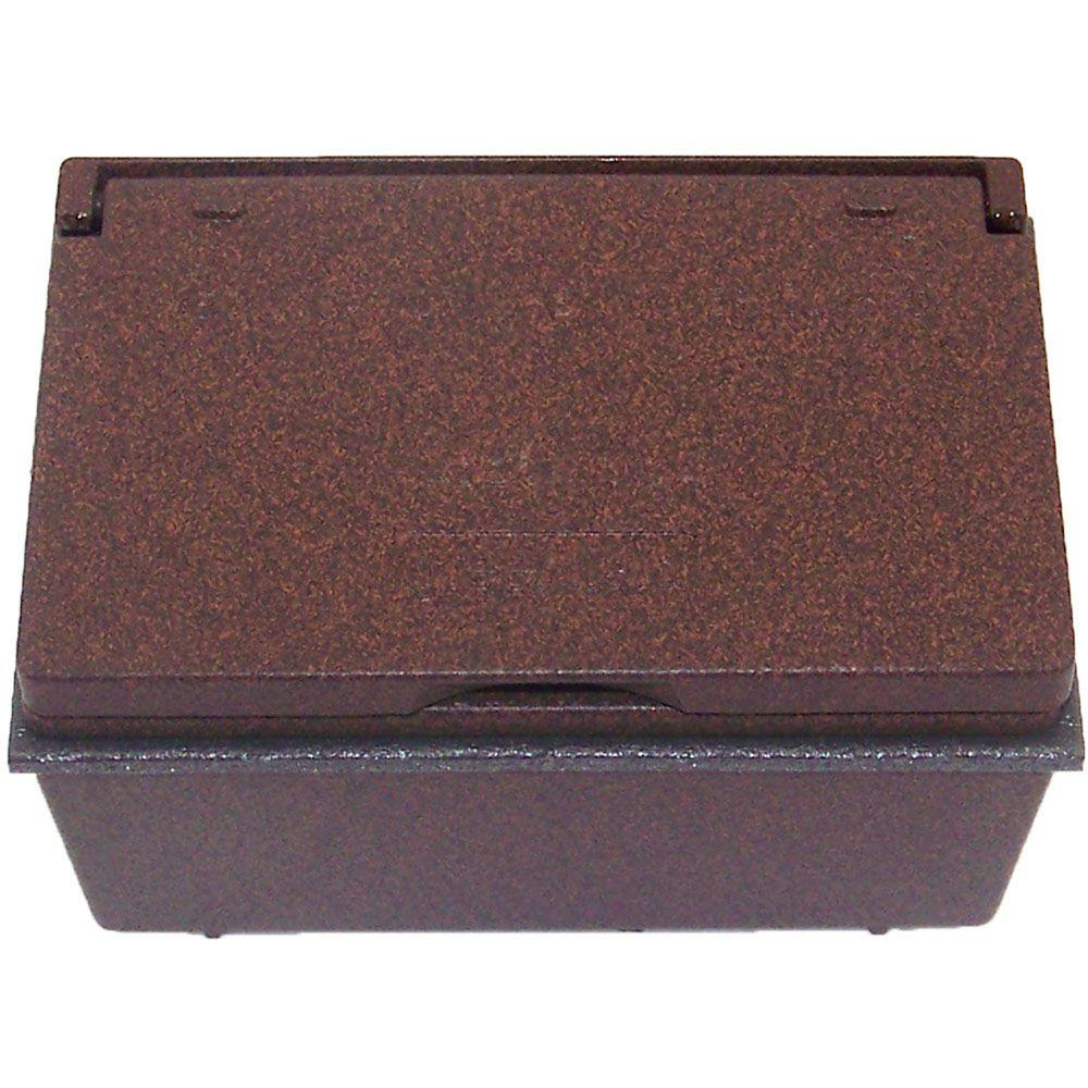 Weatherproof GFCI Outlet Kit - Rubbed Bronze