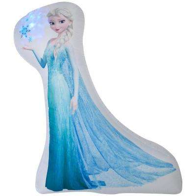 6969 in w x 2087 in d x 5984 in h photorealistic inflatable - Elsa Christmas Decoration