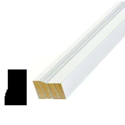 WM 180 1-1/4 in. x 2 in. x 96 in. Pine Primed Finger-Jointed Brick Moulding