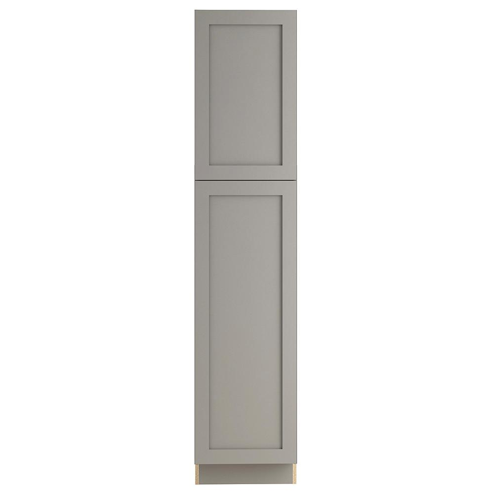 Cambridge Pantry Cabinets In Dusk: Hampton Bay Cambridge Assembled 18x84x24 In. Pantry