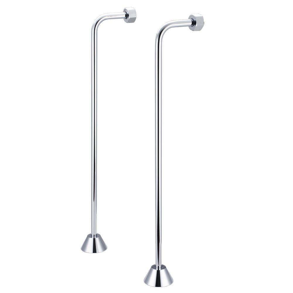Water Creation 1/2 in. or 3/4 in. Single Offset Supply fo...
