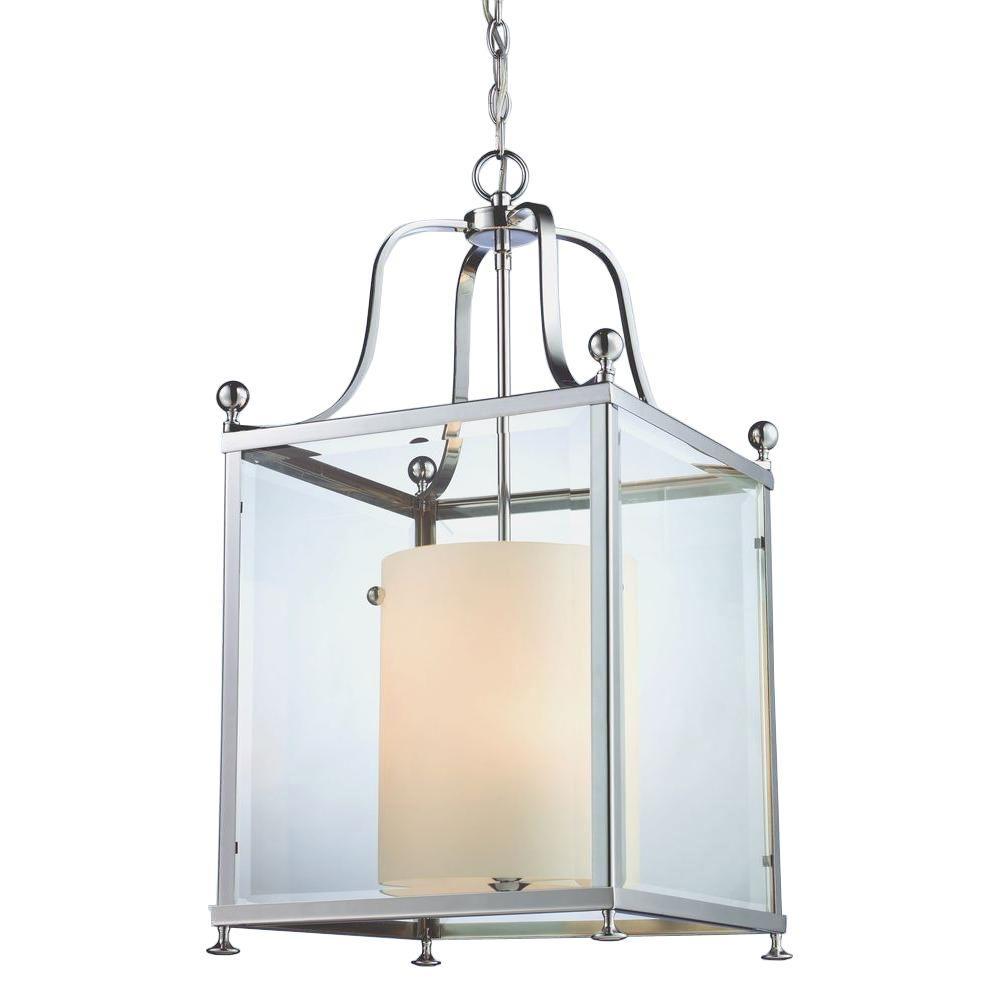 Lawrence 6-Light Chrome Candelabra Ceiling Pendant