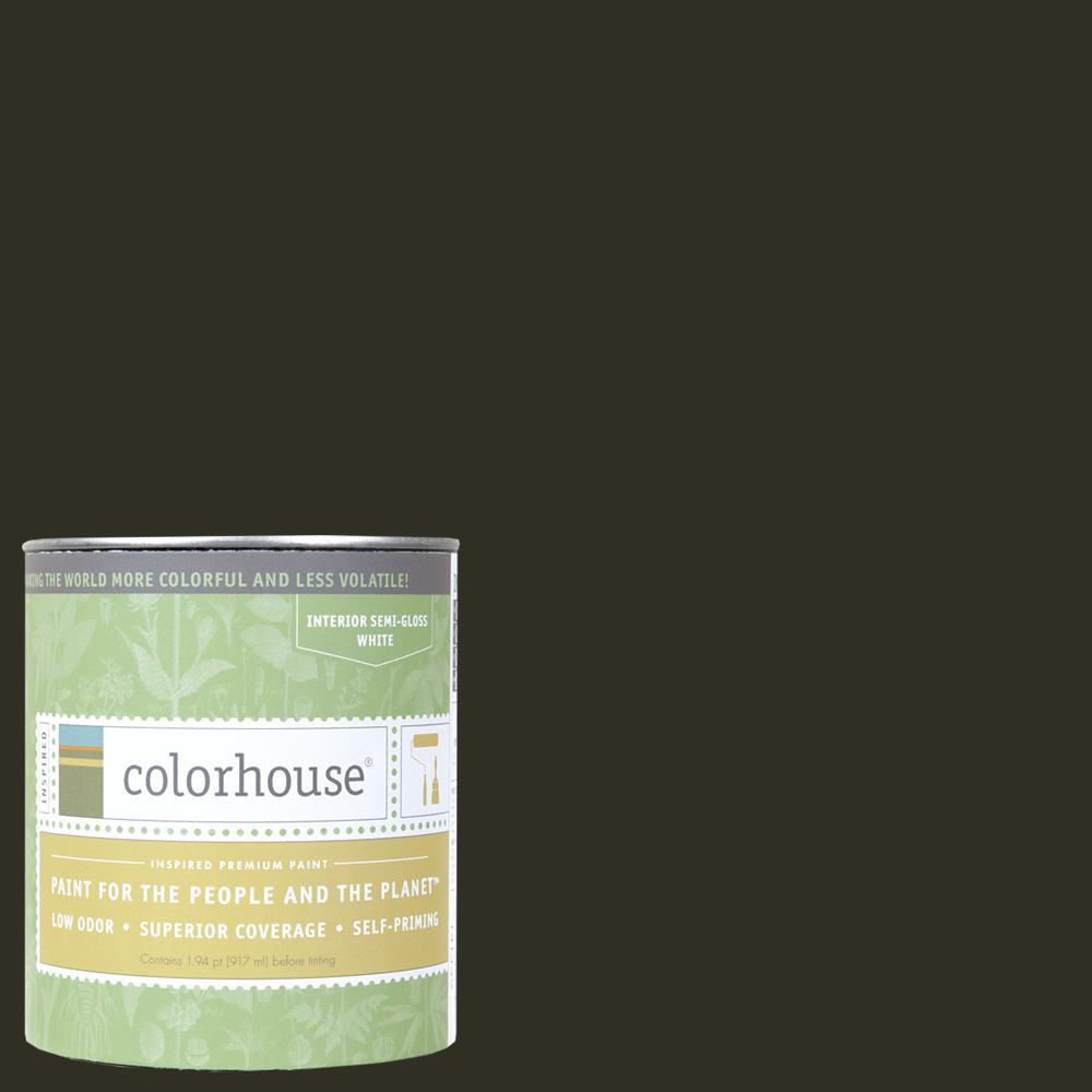 1 qt. Wood .06 Semi-Gloss Interior Paint