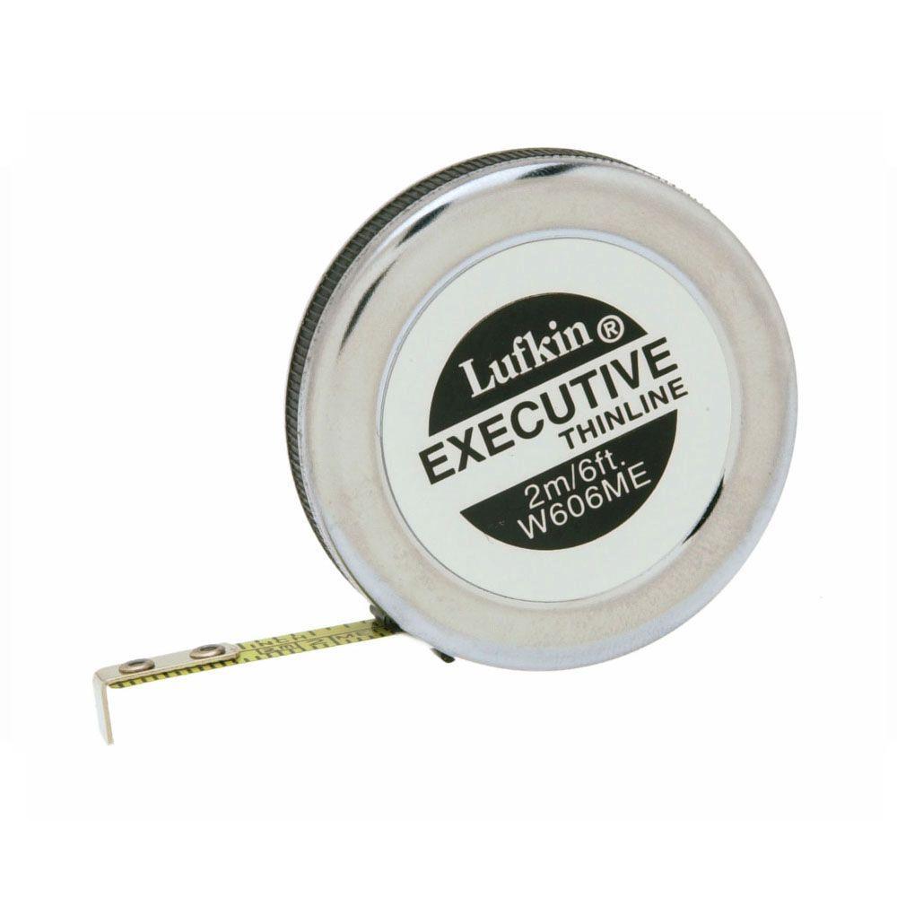 6 ft. Executive Thinline Pocket Tape Measure