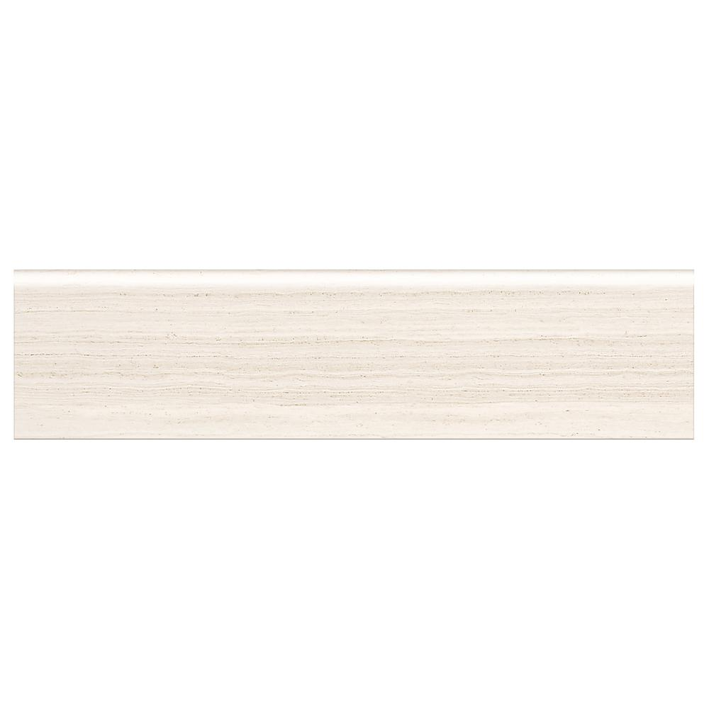 Developed by Nature Chenille 3 in. x 12 in. Porcelain Bullnose
