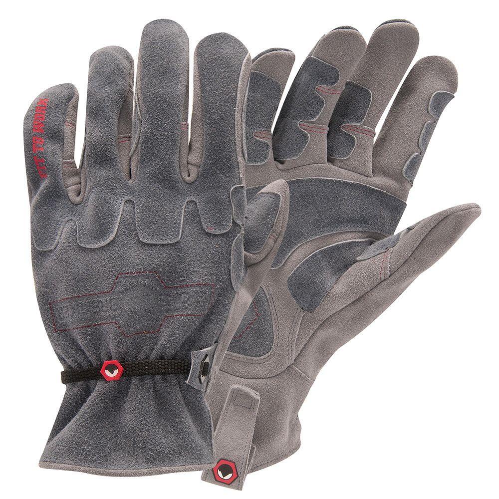 Large Demolition Work Gloves