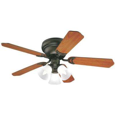 Contempra Trio 42 in. Oil Rubbed Bronze Ceiling Fan