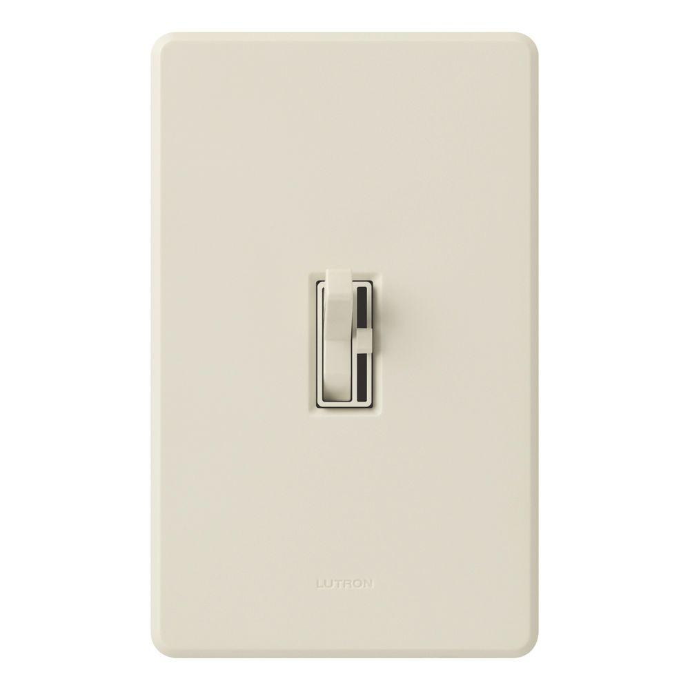 Toggler 1000-Watt Single-Pole Dimmer - Light Almond