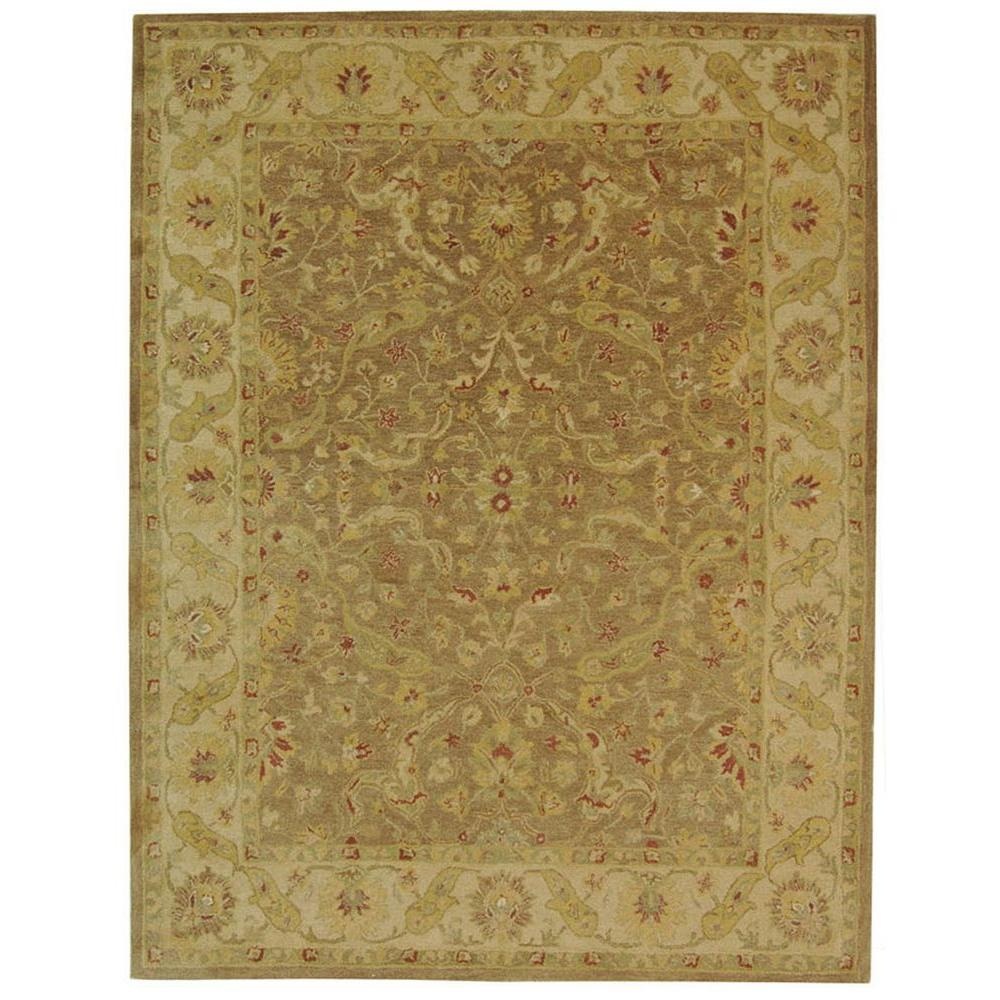 Safavieh Antiquity Brown Gold 6 Ft X 9 Ft Area Rug