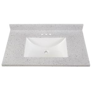Home Decorators Collection 37 In Solid Surface Vanity Top