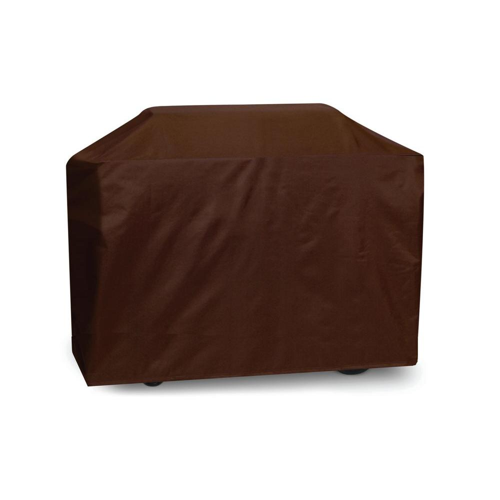 Two Dogs Designs 70 in. Cart Style Grill Cover, Chocolate Brown-DISCONTINUED