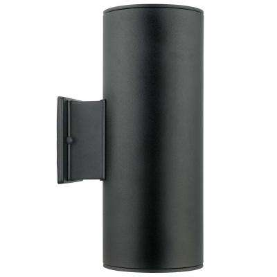 Ascoli 2-Light Black Outdoor Wall-Mount Light