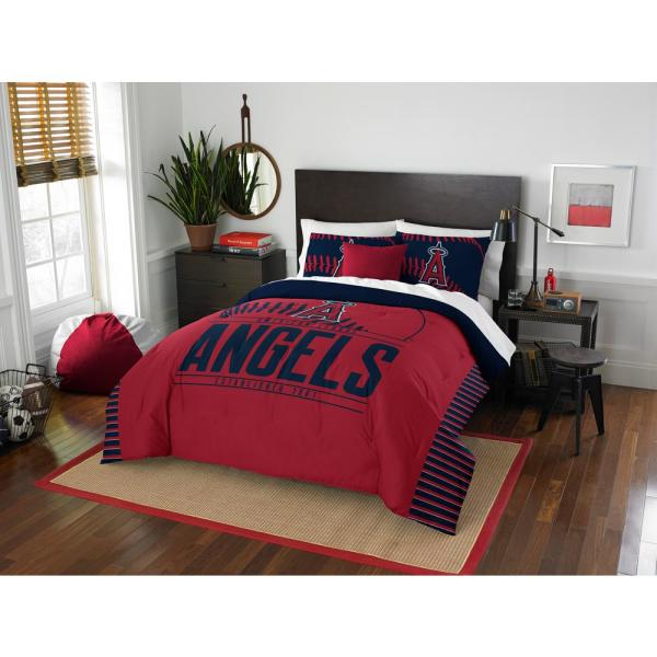 Angels 3-Piece Multicolored Full Comforter Set