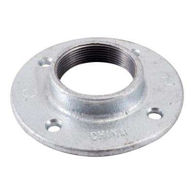 2 in. Galvanized Iron Floor Flange