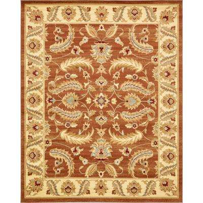 Voyage Hickory Brick Red 8' 0 x 10' 0 Area Rug