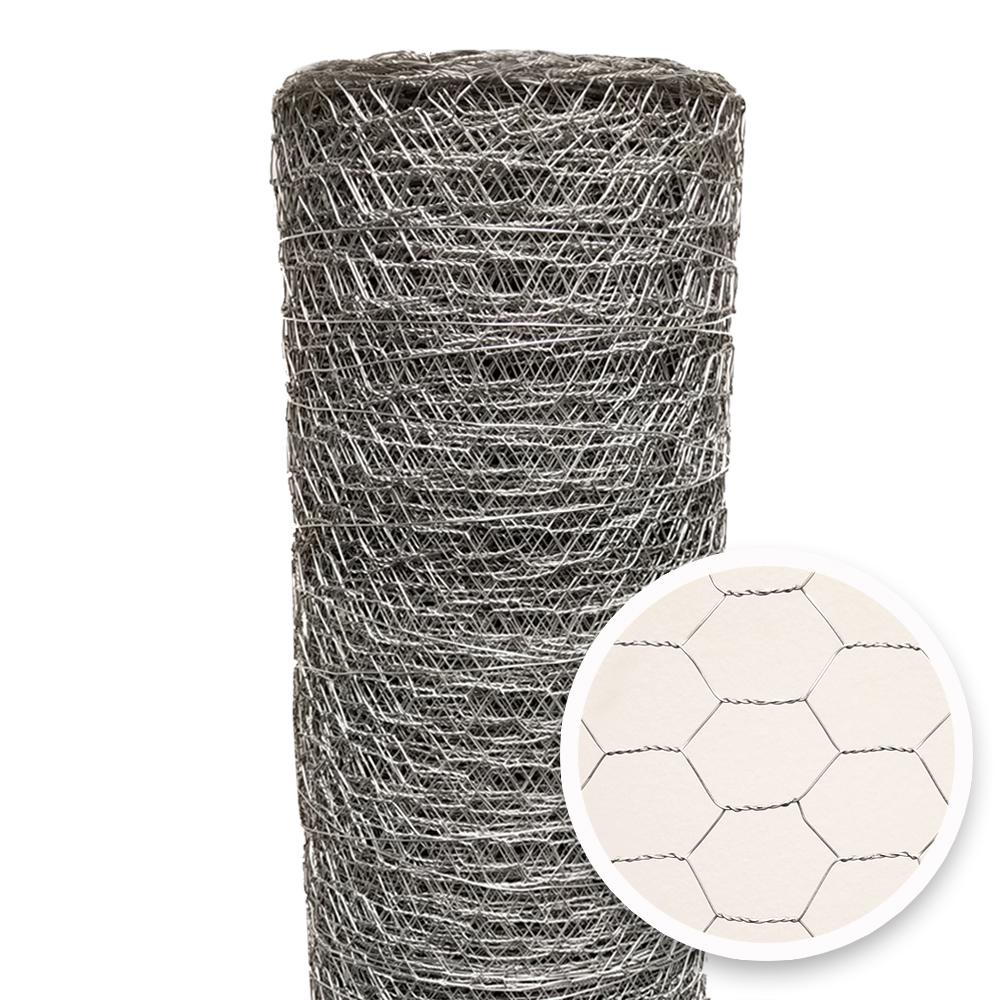 2 Inch Hexagonal Mesh 36 by 150 Foot Galvanized Poultry Chicken Netting Fence
