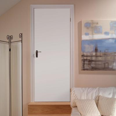 24 in. x 80 in. Primed White Smooth Flush Hardboard Hollow Core Composite Interior Door Slab