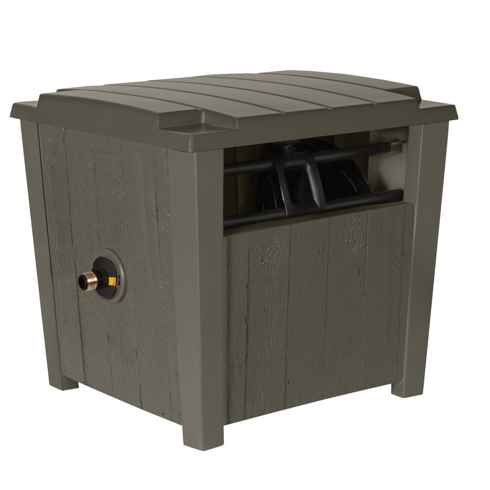 Farmhouse Hideaway Hose Reel Box