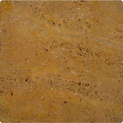 Riviera 16 in. x 16 in. Tumbled Travertine Paver Tile (20 Pieces / 35.6 Sq. ft. / Pallet)