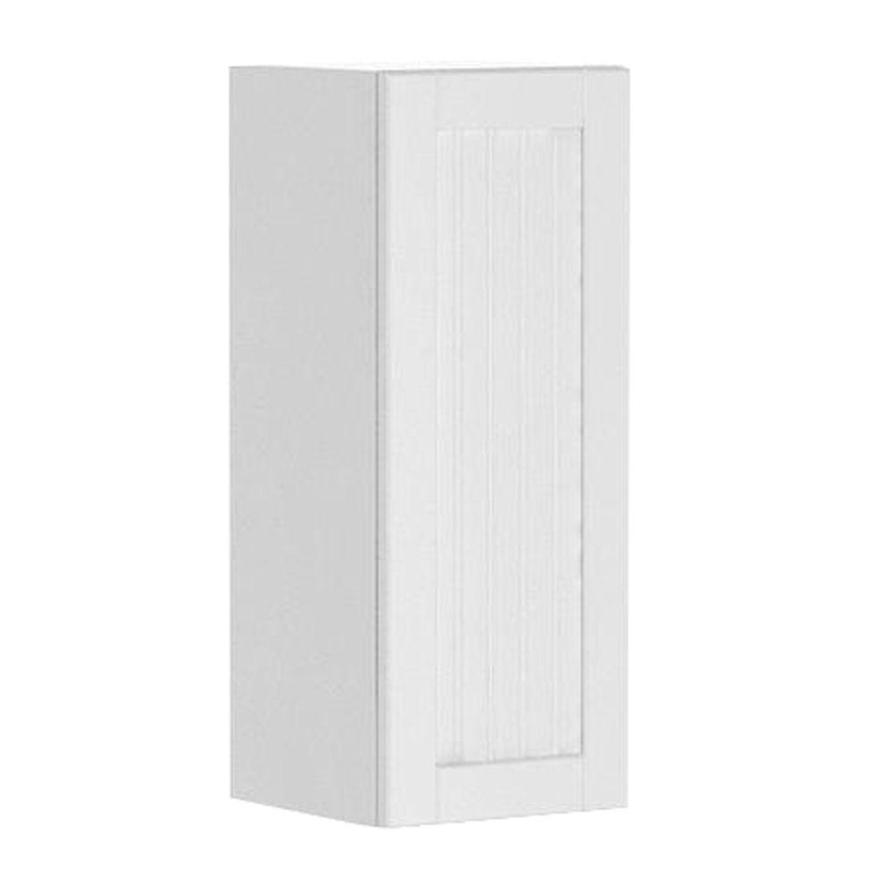 Ready to Assemble 12x30x12.5 in. Odessa Wall Cabinet in White Melamine