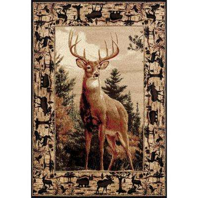 Woodside Regal Pride Multi 8 ft. x 11 ft. Oversize Area Rug