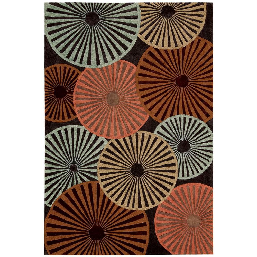 Nourison Contour Multicolor 8 ft. x 10 ft. 6 in. Area Rug