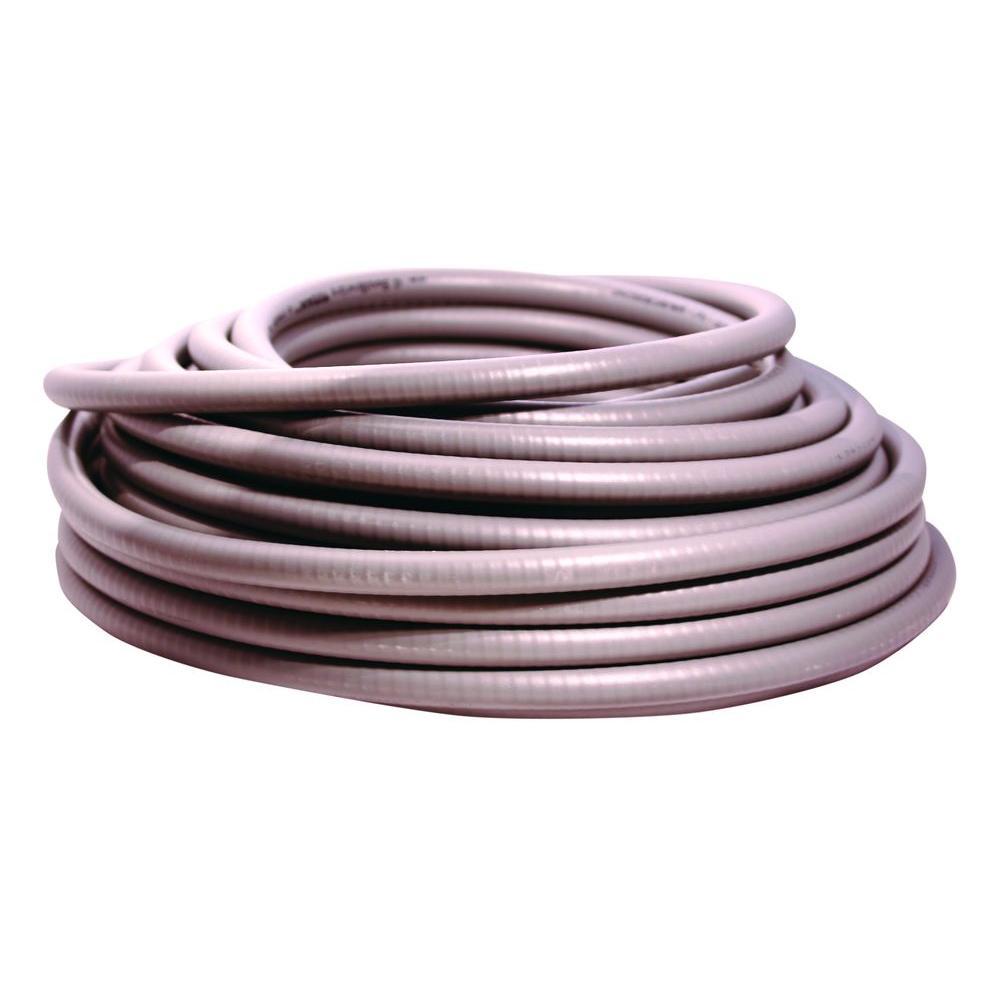 Ultratite Liquidtight Flexible Non-Metallic PVC Conduit-58046301 - The Home  Depot