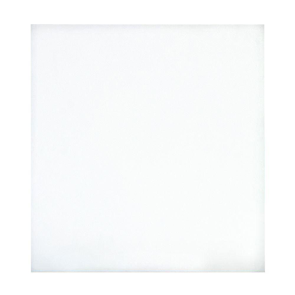 EUCATILE 32 sq. ft. 96 in. x 48 in. Hardboard Thrifty White Tile Board