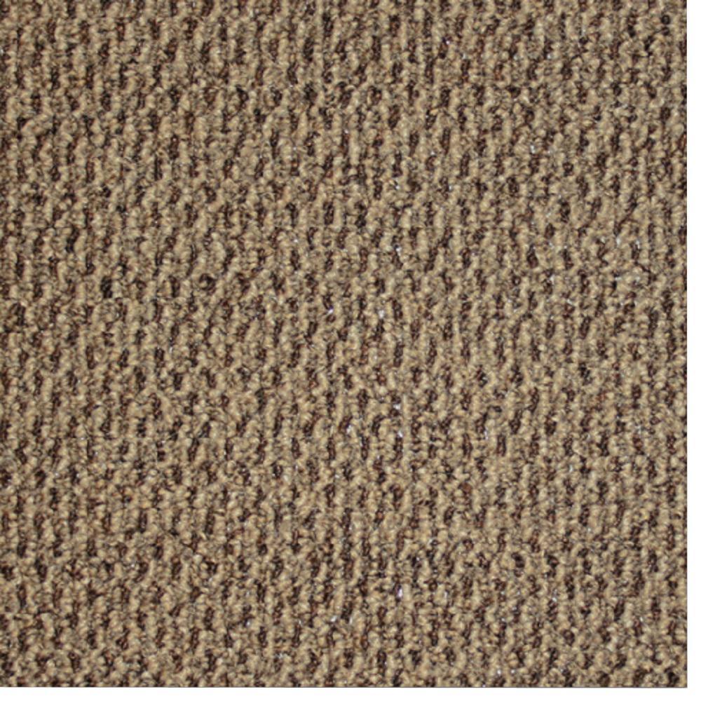 Carpet Sample - Skill Set - Color Cocoa Bean Loop 8 in. x 8 in.