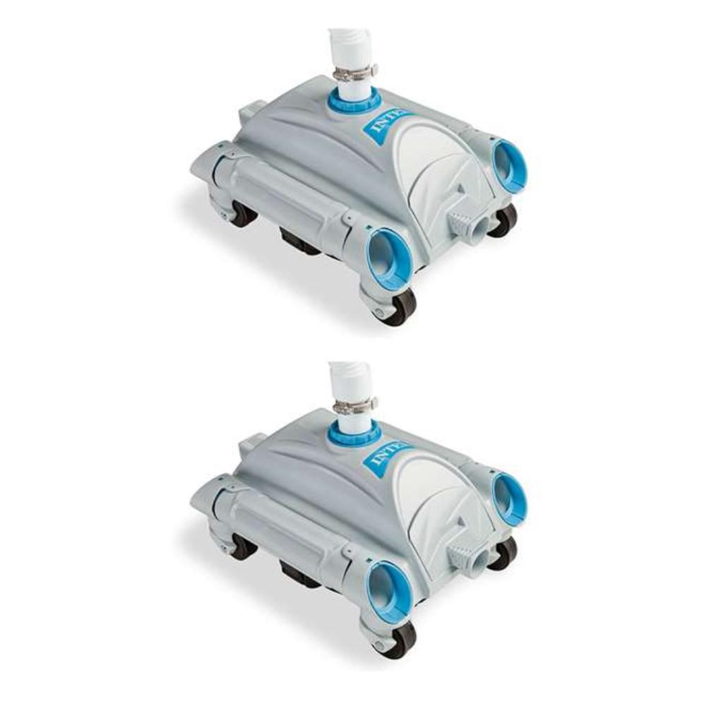 Automatic Above Ground Pool Vacuum for Pumps 1,600 GPH to 3,500 GPH (2-Pack)