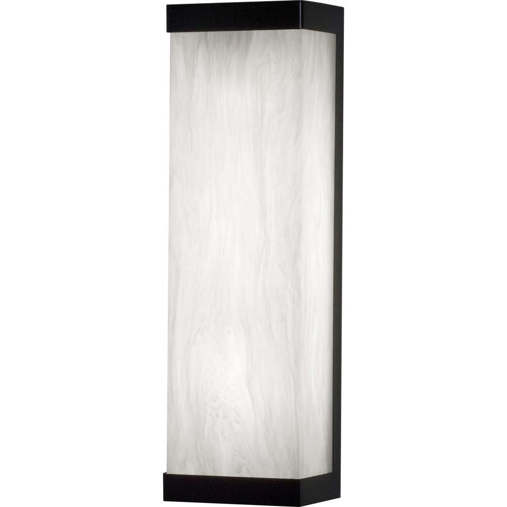 Filament Design 17.75 in. Black Interior Wall Sconce with 1 Energy Efficient Light