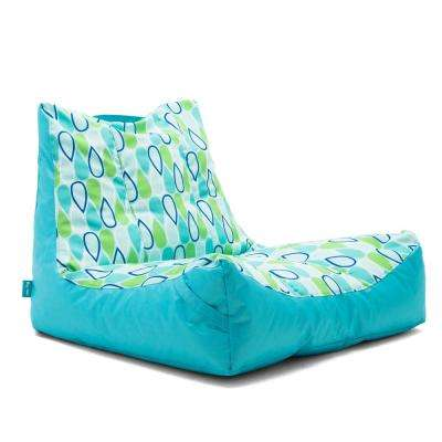 Captain's Float Cool Geo Drop Sunmax Pool Chair