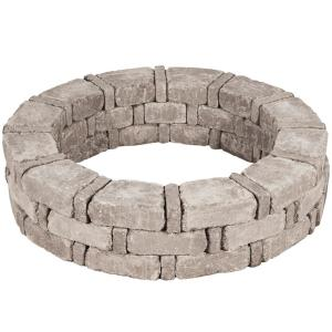RumbleStone 46 in. x 10.5 in. Tree Ring Kit in Greystone