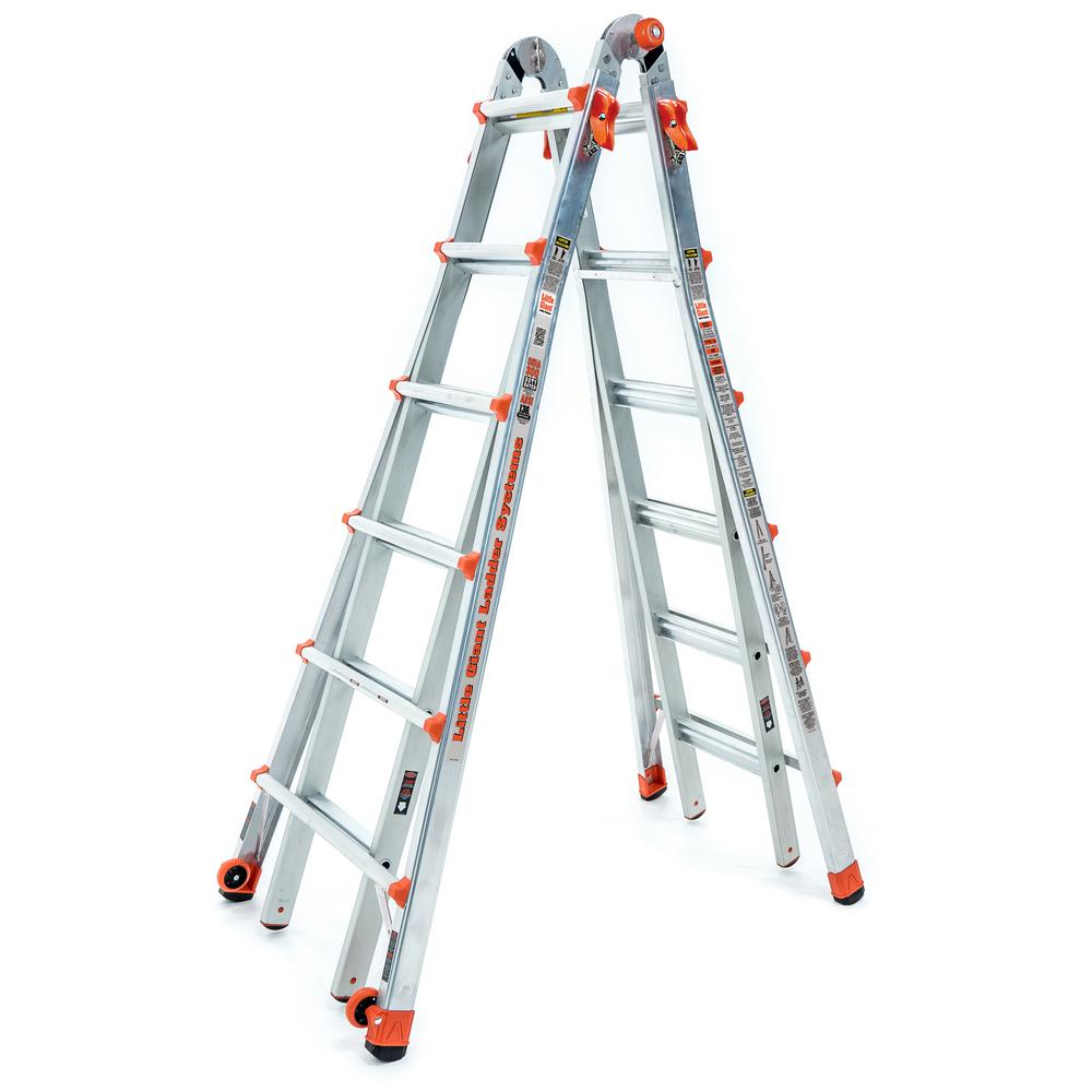 LT 26 ft. Aluminum Multi-Position Ladder with 300 lbs. Capacity Type