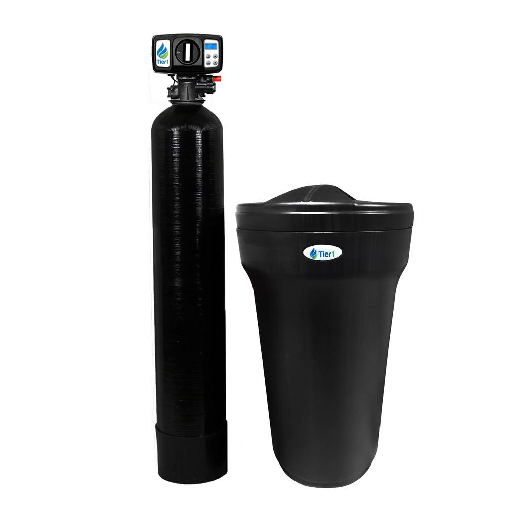 Tier1 Essential Certified Series 48,000 Grain High Efficiency Digital Water Softener