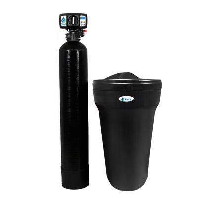 48,000 Grain Capacity 54 in. Black Water Softener