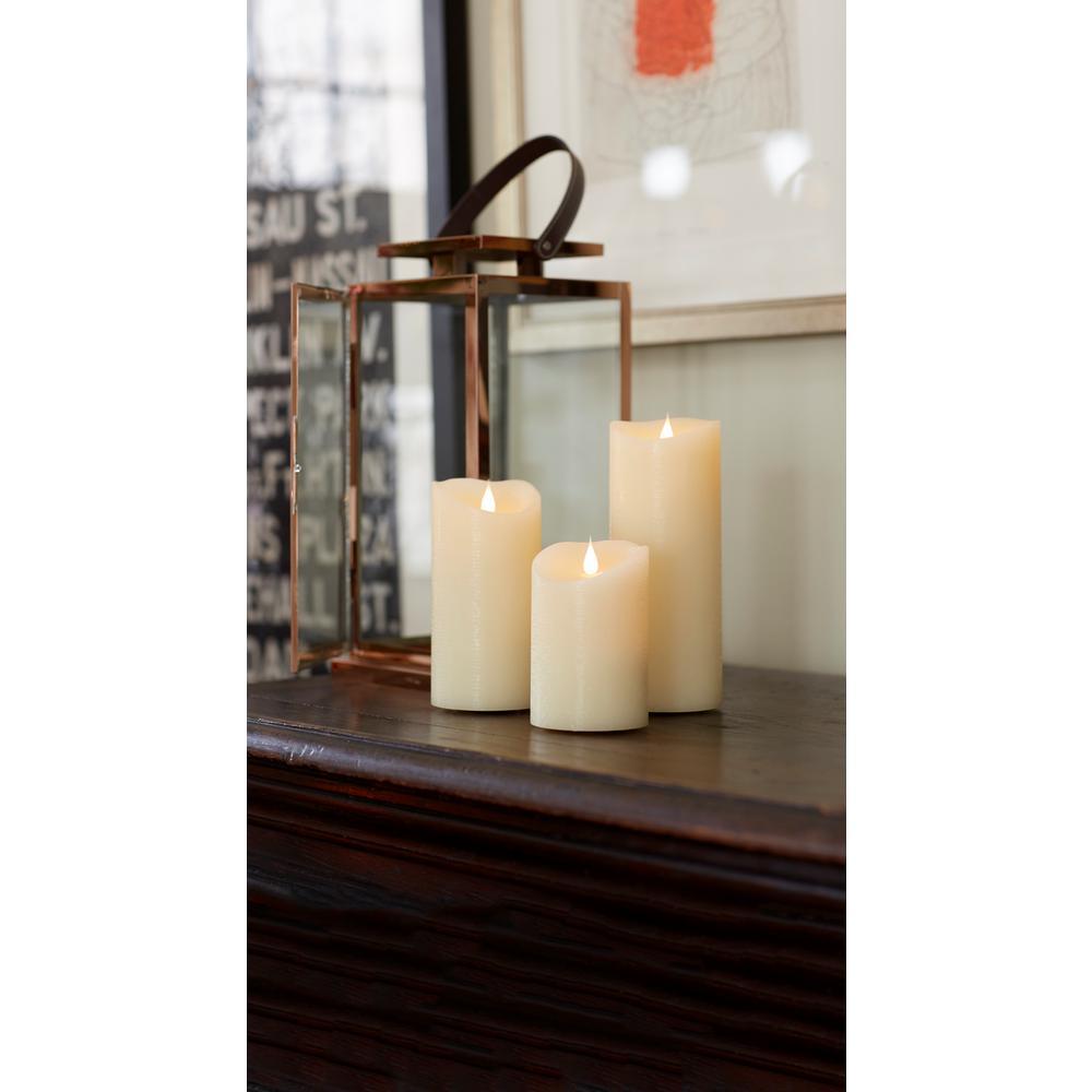 Simplux Ivory Designer Melted Candle (Set of 2)