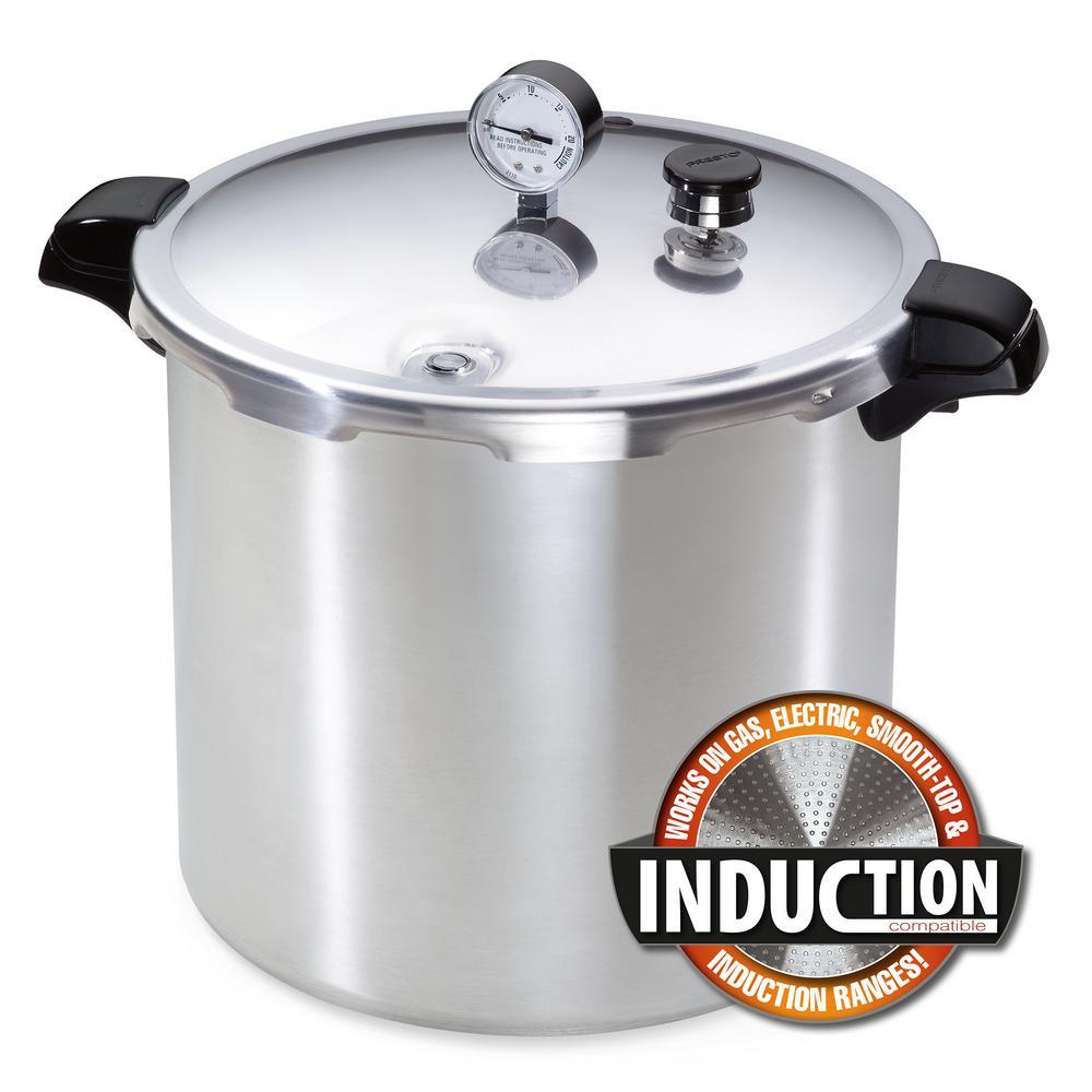 Presto Induction Compatible Pressure Canner-01784