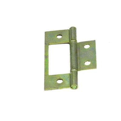 3 in. Brass Finish Bi-Fold Door Hinge